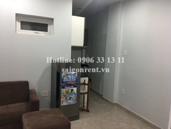 Serviced apartment 01 bedroom, livingroom for rent on Cong Hoa Street, Tan Binh district. Walk to Etown building- 380$