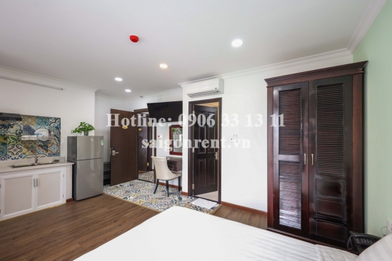 Brand new serviced studio apartment 01 bedroom with balcony  40sqm in Nguyen Van Troi street, Phu Nhuan district - 400 USD