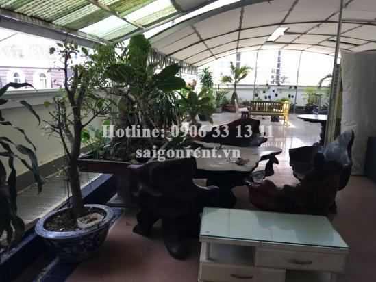 Nice serviced apartment 01 bedroom, living room on Topfloor  for rent on Nguyen Van Huong street, Thao Dien ward, District 2- 50 sqm- 500 USD