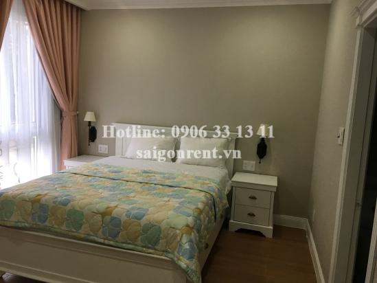Nice serviced apartment 02 bedrooms on ground floor for rent on Nguyen Van Huong street, Thao Dien ward, District 2- 58sqm- 850 USD