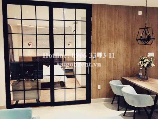 Beautiful serviced apartment 01 bedroom, living room on 3rd for rent on Truong Sa street, District 3 - 60sqm - 1000USD