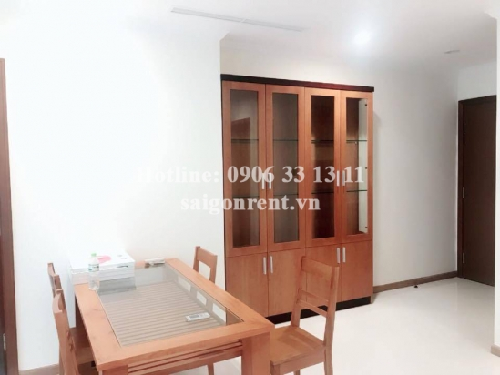 Vinhome Central Park - Nice Apartment 03 bedrooms on 28th floor for rent on Nguyen Huu Canh street - Binh Thanh District - 100sqm - 1200 USD