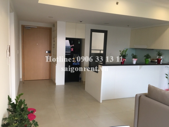 Masteri Building - Nice Apartment 03 bedrooms on 24th floor for rent on Ha Noi highway - District 2 - 93sqm - 1200 USD