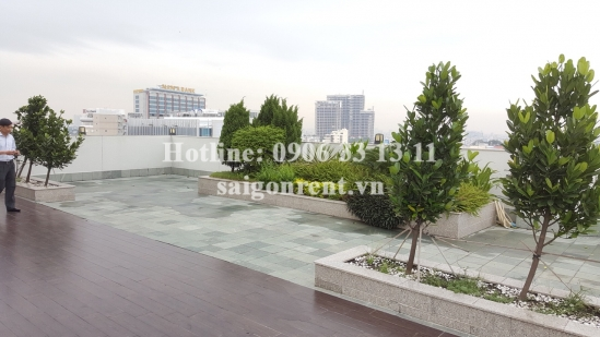 Penthouse serviced apartment 03 bedrooms for rent on Ba Huyen Thanh Quan street, District 3 - 300sqm - 4400USD