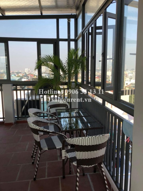 Nice serviced apartment 01 bedroom for rent on Ly Chinh Thang street, Ditrict 3 - 50sqm - 660USD(15 millions VND)