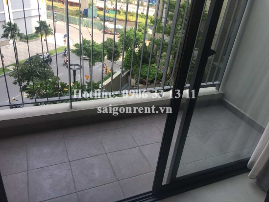 Masteri Building - Apartment 02 bedrooms on 5th floor for rent on Ha Noi highway - District 2 - 60sqm - 700 USD
