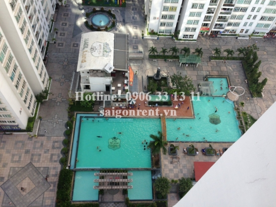 HAGL3 building ( New Saigon) - Apartment 02 bedrooms on 21th floor for rent on Nguyen Huu Tho street - District 7- 600 USD