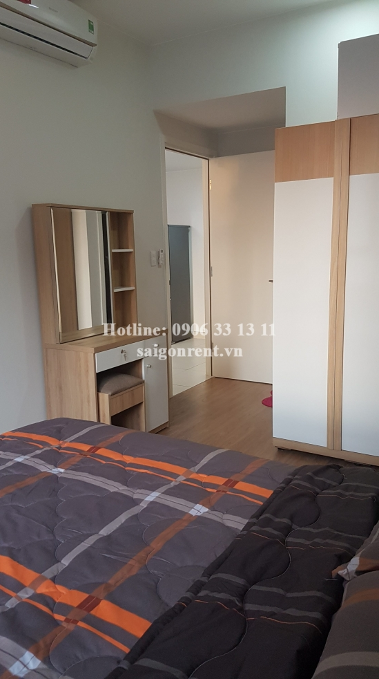 Masteri Building - Apartment 02 bedrooms on 12th floor for rent on Ha Noi highway - District 2 - 68sqm - 750 USD
