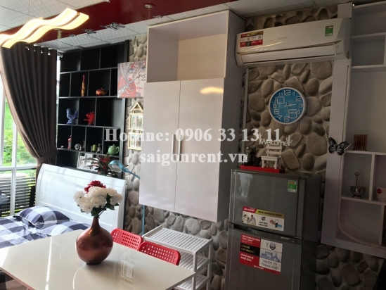 Serviced studio apartment 01 bedroom with 25sqm for rent in Hung Phuoc 4 street, Center Phu My Hung area-District 7: 330 USD