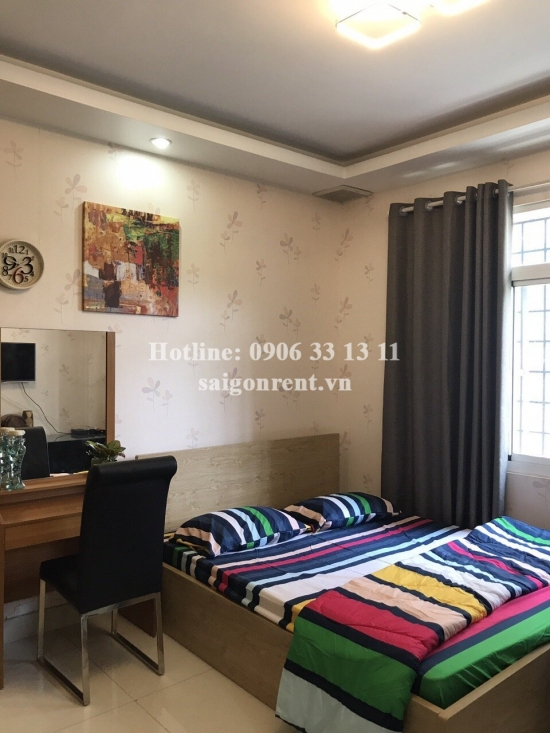 Serviced studio apartment 01 bedroom with 35sqm for rent in Hung Phuoc 4 street, Center Phu My Hung area-District 7: 400 USD