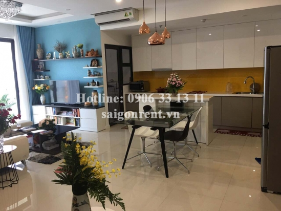 Estella Heights building - Luxury apartment 02 bedrooms on 20th floor for rent on Song Hanh street, District 2 - 93sqm - 1250USD