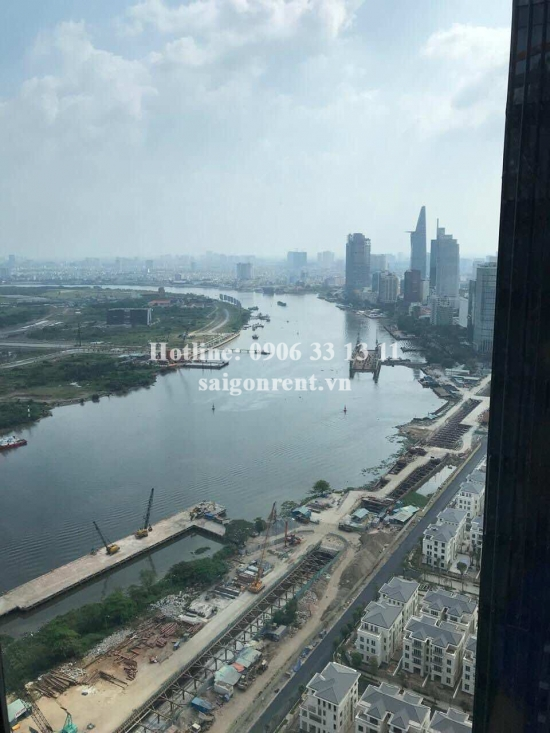 Vinhomes Gloden River Building - Apartment 02 bedrooms on 39th floor for rent on Ton Duc Thang Street, District 1 - 63sqm - 1600 USD
