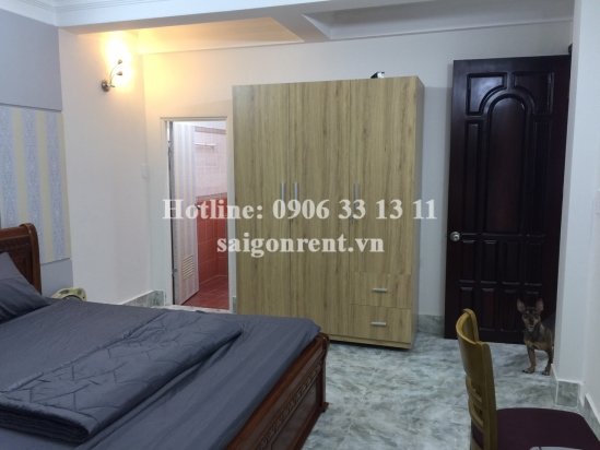 Serviced apartment 01 bedroom for rent on Ly Chinh Thang street, Ditrict 3 - 50sqm - 560USD