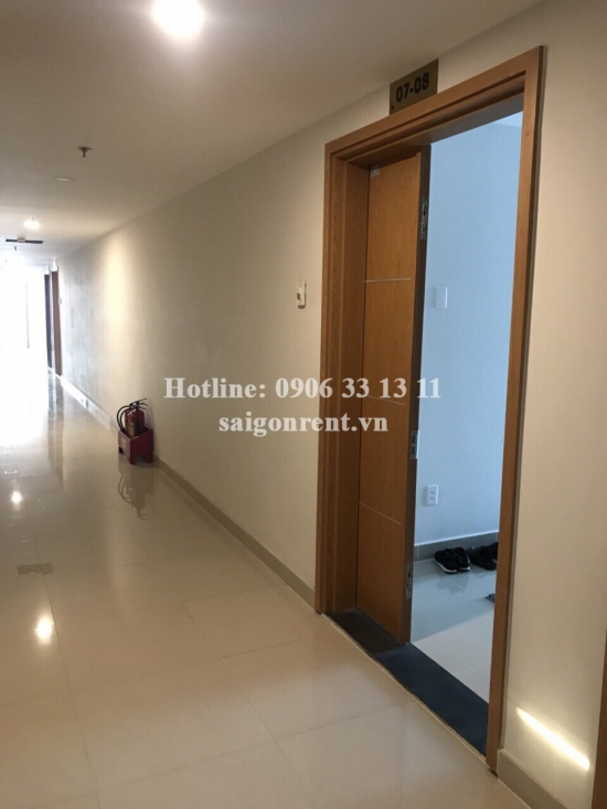 Him Lam Phu Dong building - Apartment 02 bedrooms for rent on Tran Thi Vung street, Di An Ward, Binh Duong Province next to Thu Duc district - 65sqm - 500$