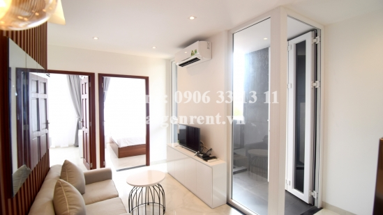 Beautiful serviced apartment 02 bedrooms for rent on Thach Thi Thanh street - District 1 - 60sqm - 1200USD