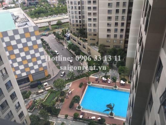 Masteri Building - Apartment 01 bedroom on 15th floor for rent on Ha Noi highway - District 2 - 49sqm - 650 USD