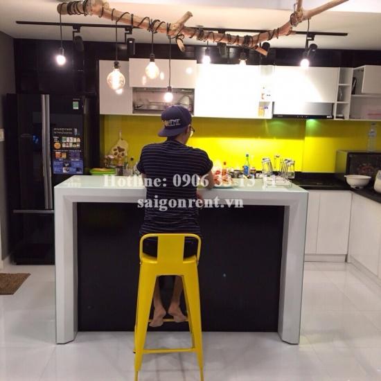 Tropic Garden Buidling - Nice Apartment 03 bedrooms on 18th floor for rent in Nguyen Van Huong street, District 2- 115sqm - 1100 USD