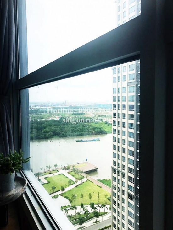 Vinhome Central Park - Nice Apartment 02 bedrooms on 22th floor for rent on Nguyen Huu Canh street - Binh Thanh District - 72sqm - 850 USD