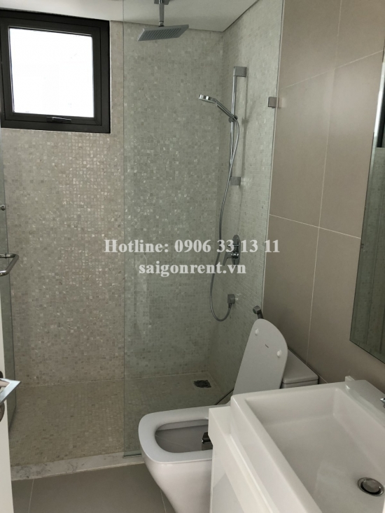 Gateway Building - Brand new apartment 02 bedrooms unfurnished with balcony and pool view on 8th floor for rent at 02 Le Thuoc street, Thao Dien Ward, District 2- 100sqm- 1200 USD