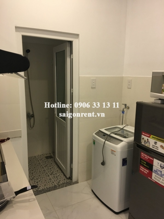 Serviced apartment 01 bedroom with balcony, kitchen room, 40sqm for rent in Nguyen Trai street, district 1- 500 USD