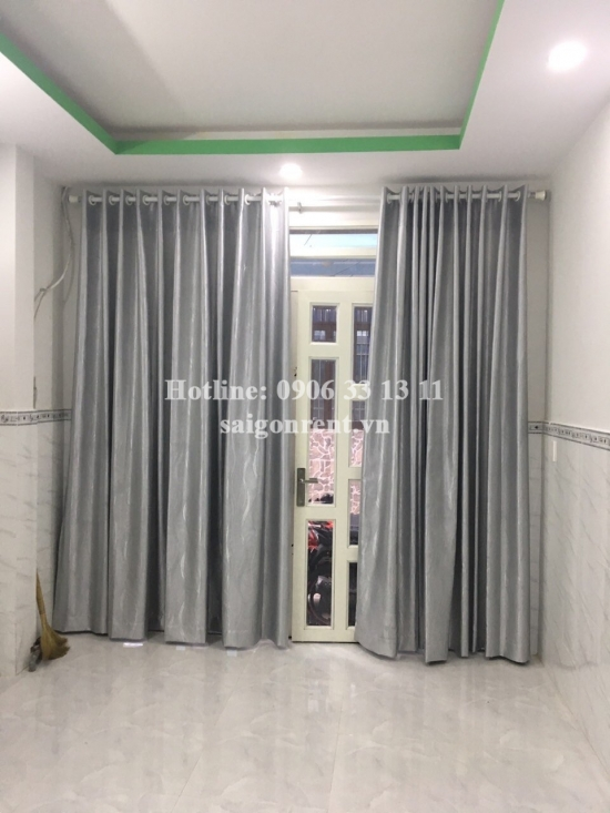 Nice house 02 bedrooms unfurnished for rent on Lac Long Quan street, ward 5, District 11- 450 USD