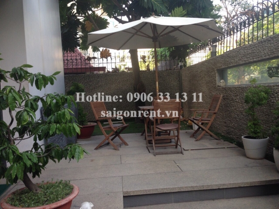 Villa 04 bedrooms for rent in Phu My area, Phu My Ward, District 7 - 388sqm - 2500 USD