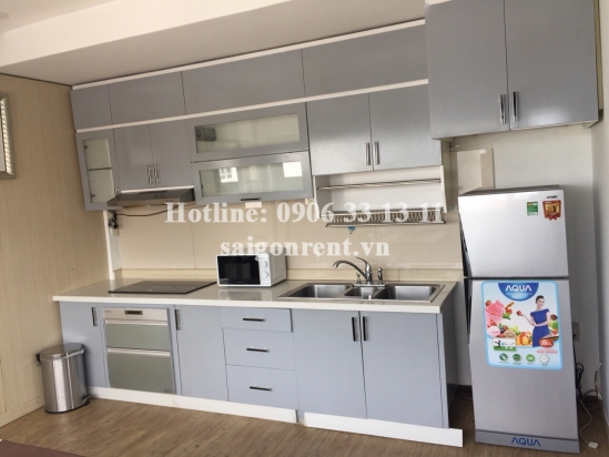 Beautiful serviced apartment 01 bedroom, living room on 5th floor for rent on Hoang Sa street, Ward 8, District 3 - 60sqm - 800 USD