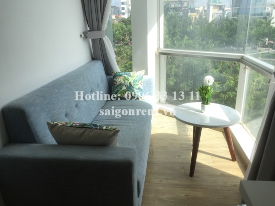 Beautiful serviced apartment 01 bedroom, living room on 2nd floor for rent on Hoang Sa street, Ward 8, District 3 - 60sqm - 650 USD,