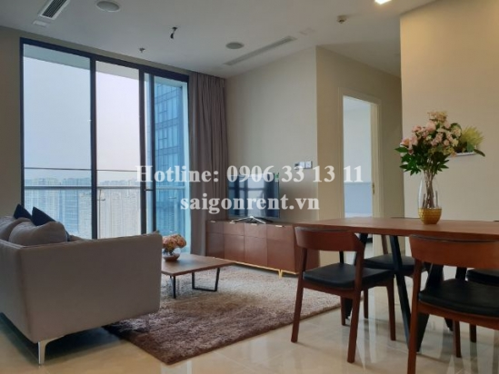 Luxury apartment 02 bedrooms on 34th floor for rent in Vinhomes Golden River Building- Ton Duc Thang street, Center of District 1- 66sqm- 1500 USD