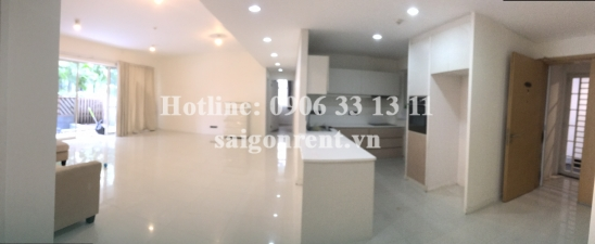 Estella Building - apartment unfurnished 03 bedrooms for rent Estella Building on Song Hanh street, An Phu ward, District 2 - 191 sqm - 2300 USD
