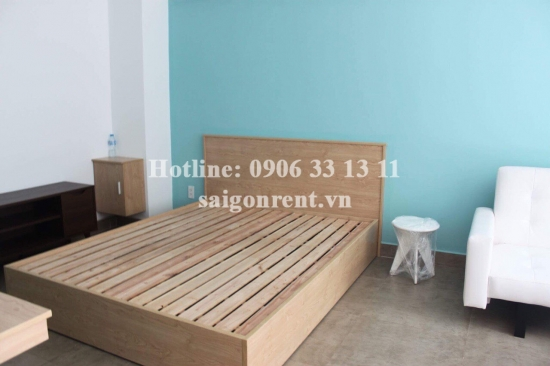 Nice serviced apartment 01 bedroom for rent on Hung Gia 5 street, District 7 - 50sqm - 450 USD