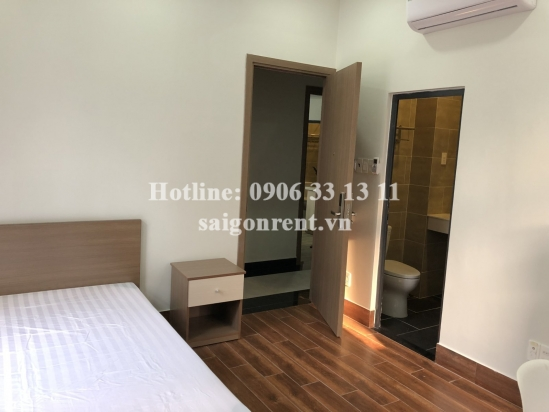 Brand new and beautiful serviced studio apartment 01 bedroom with alot of light for rent on D2 street, ward 25, Binh Thanh District - 35sqm - 420 USD