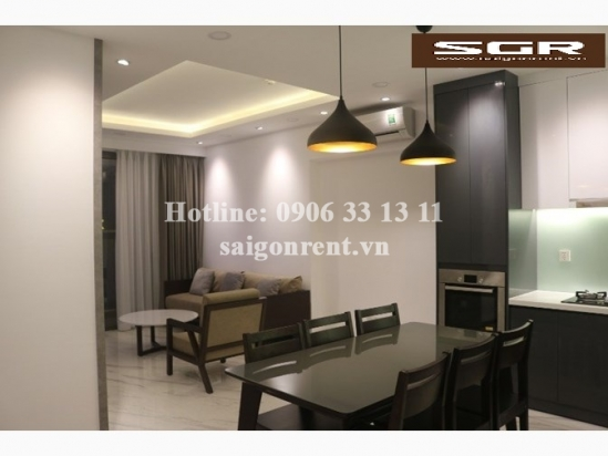 Kingston Residence building - Apartment 02 bedrooms for rent on Nguyen Van Troi street, Phu Nhuan District - 80sqm - 1100 USD( 25 Millions VND)
