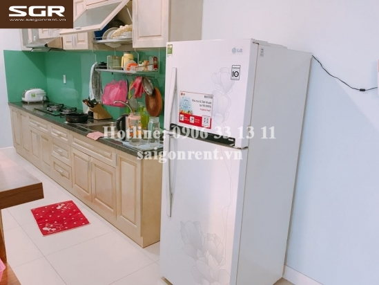 Lexington Residence building - Apartment 02 bedrooms on 20th floor for rent at 67 Mai Chi Tho street - District 2 - 82sqm - 820 USD( 19 Millions VND)