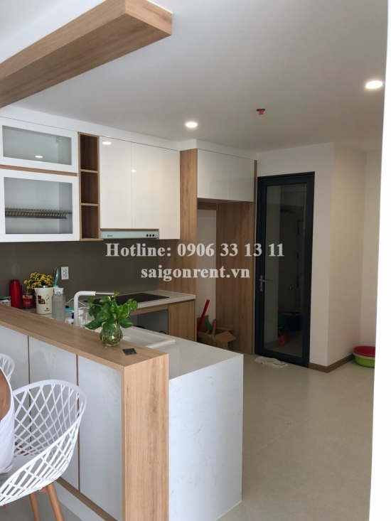 New City Thu Thiem Building - Apartment unfurniture 03 bedrooms on 2nd floor for rent at 17 Mai Chi Tho street, District 2 - 87sqm - 750 USD