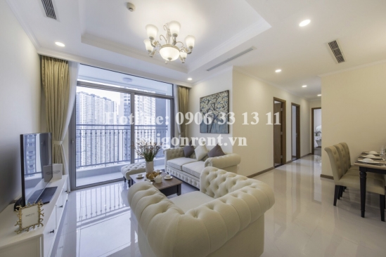 Vinhome Central Park - Serviced apartment 03 bedrooms for rent on Nguyen Huu Canh street - Binh Thanh District - 110sqm - 1690 USD( 39,4 Million VND)