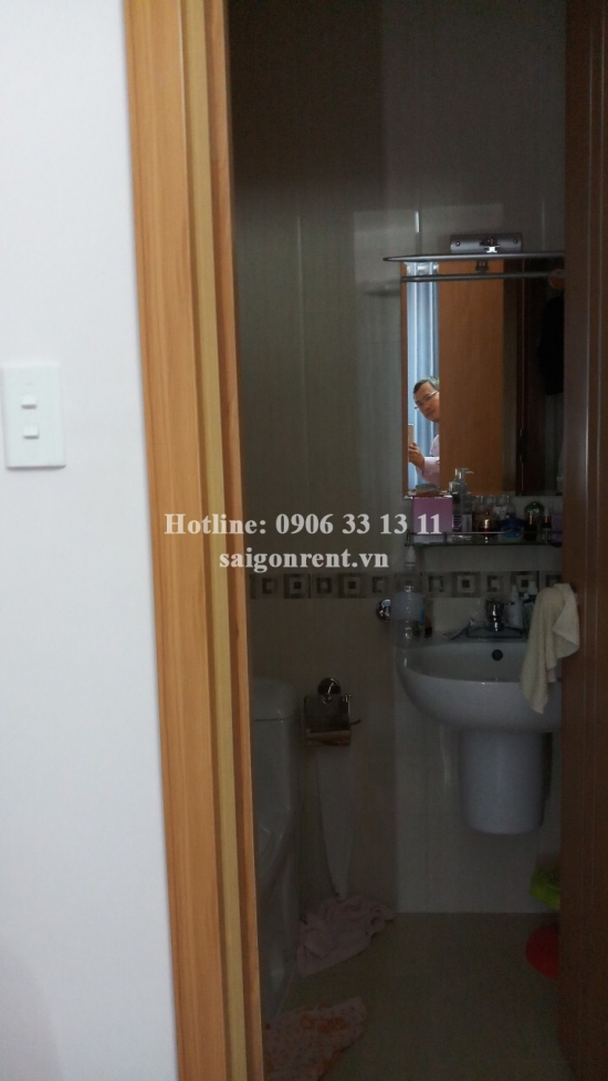 SaigonRes Plaza Building - Apartment 02 bedrooms on 19th floor for rent on Nguyen Xi street, Binh Thanh District - 71sqm - 650 USD