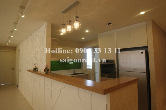 The Estella building - Beautiful apartment 03 bedrooms on 11th floor for rent on Song Hanh street, District 2 - 171sqm - 2000 USD