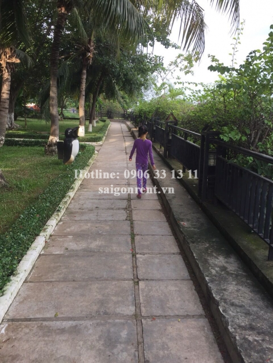 River view apartment for rent in 4S Riverside Garden Building on Pham Van Dong street, Hiep Binh Chanh Ward, Thu Duc District - 70sqm - 475 USD