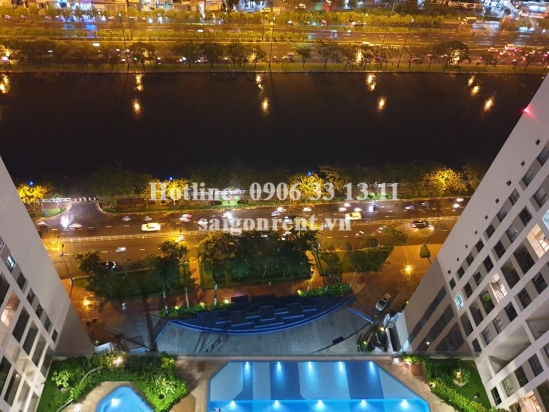 The Gold View Building - Apartment 02 bedrooms on 22th floor for rent on Ben Van Don Street, District 4 - 93sqm - 1200 USD