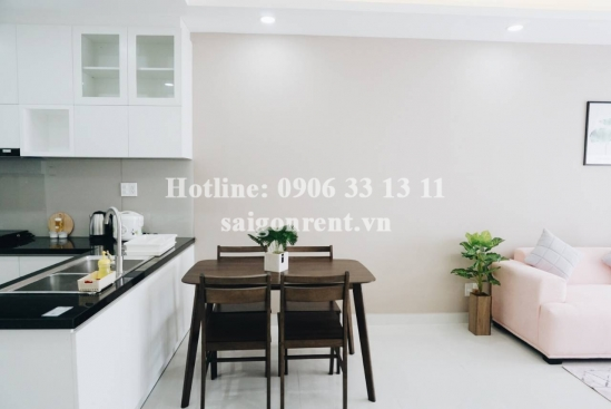 The Gold View Building - Apartment 02 bedrooms on 19th floor for rent on Ben Van Don Street, District 4 - 75sqm - 950 USD