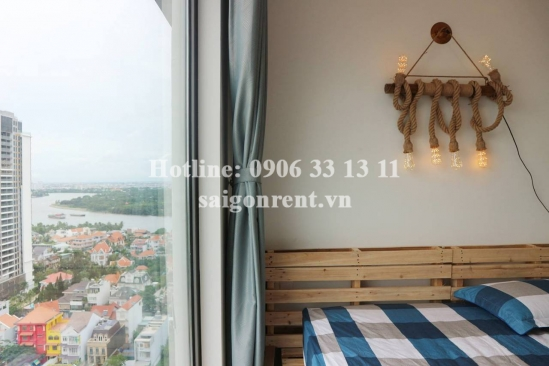 Gateway Building - Apartment 01 bedroom fully furnished on 20th floor for rent at 02 Le Thuoc street, Thao Dien Ward, District 2 - 50sqm - 900 USD
