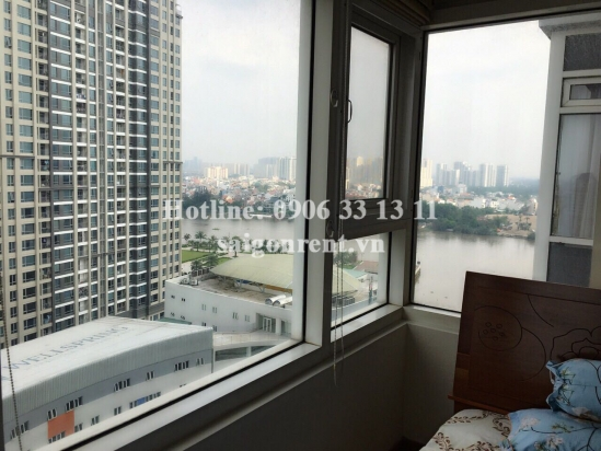Saigonpearl Building - Apartment 02 bedrooms for rent  on Nguyen Huu Canh street, District 2 - 85sqm - 800 USD