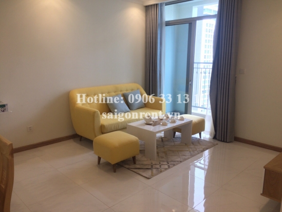 Vinhome Central Park - Apartment 02 bedrooms on 38th floor for rent on Nguyen Huu Canh street - Binh Thanh District - 80sqm - 860 USD( 20 millions VND)