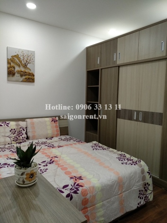 The Golden Star Building - Apartment 03 rooms ( 02 bedrooms +01 working room for rent on Nguyen Thi Thap street, District 7 - 80sqm - 800 USD