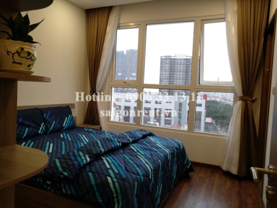 The Golden Star Building - Apartment 03 rooms ( 02 bedrooms +01 working room for rent on Nguyen Thi Thap street, District 7 - 80sqm - 700 USD