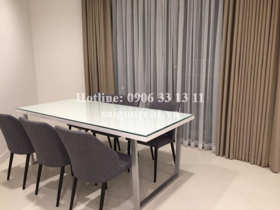 City Garden Building - Apartment 3 bedrooms for rent on Ngo Tat To street, Binh Thanh District - 138sqm - 2000 USD