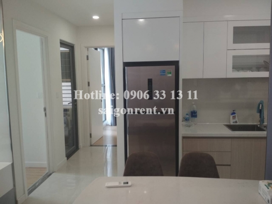 Millennium Building - Nice Apartment 02 bedrooms on 17th floor for rent at 132 Ben Van Don street, District 4 - 73sqm - 1100 USD