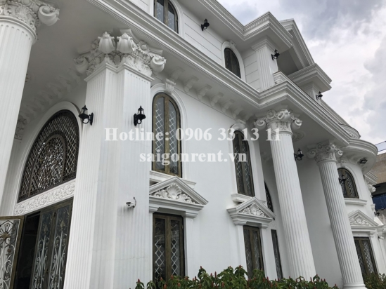 Large Villa 05 bedrooms Fully furnished with pool for rent in An Phu ward next to Thao Dien ward, District 2- Behind The Vista building-600m2- 7000 USD