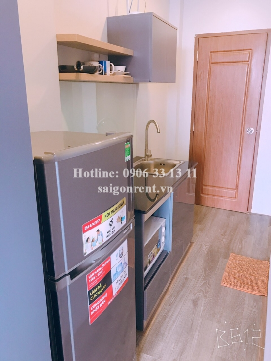 Serviced apartment 01 bedroom for rent on Hoang Sa street, ward 7, District 3 - 45sqm - 550 USD